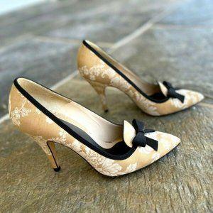 Te Casan Brocade Shoes